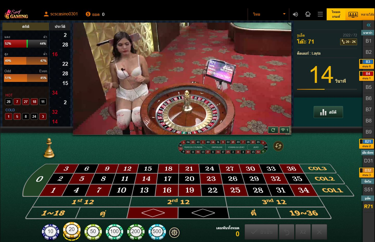 dg-roulette Sexy Gaming