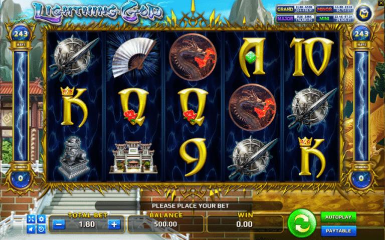 God of Lightning Slot Online