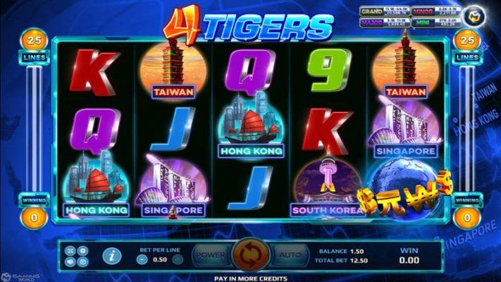 4 Tigers Slot